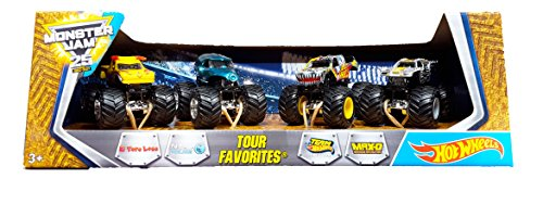 Hot Wheels Monster Jam 2017 - Tour Favorites 2 - El Toro Loc
