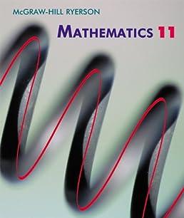 mcgraw hill ryerson mathematics 11 george knill michael webb john rh amazon ca nelson functions 11 solutions manual chapter 2 nelson functions 11 solutions manual chapter 6