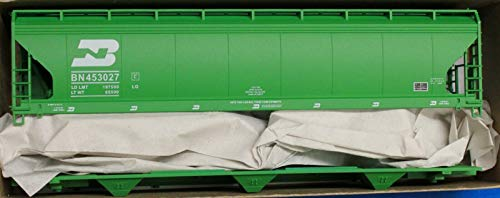 47' ACF 3-Bay Center Flow Covered Hopper - Kit (Plastic) -- Burlington Northern (Burlington Northern ()
