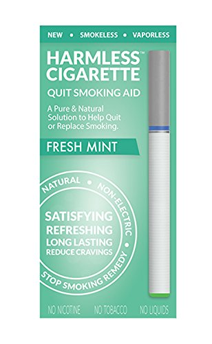Natural Quit Smoking Remedy / Stop Smoking Aid To Help Quit Smoking / Therapeutic Quit Smoking Product / Best Stop Smoking Product / Easy Way To Quit / Harmless Cigarette (Fresh Mint)
