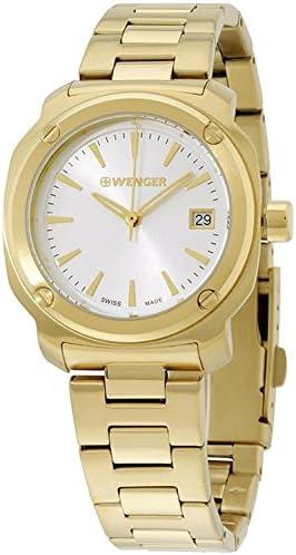 Wenger Edge Index Quartz Movement Silver Dial Ladies Watch 01.1121.107