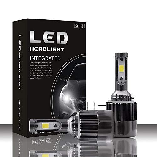 ZJP-dzsw LED Headlight Bulb H15 Series LED Headlights with 2 Pcs of Led Bulbs 36W 4000lm COB Chip General Purpose car Light ()