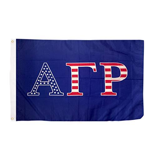 Alpha Gamma Rho Fraternity USA Letter Flag Banner Greek Letter Sign Decor ()