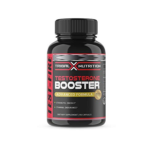 Testosterone Booster - Enhances Strength, Lean Muscles, Endurance, Stamina - Tribal X Nutrition - Testosterone Booster for Men - Promotes Weight Loss and Fat Burning - Estrogen Blocker - Tribulus