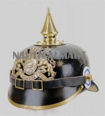 Medieval Armor Pickelhaube Helmet By Nauticalmart by NAUTICALMART