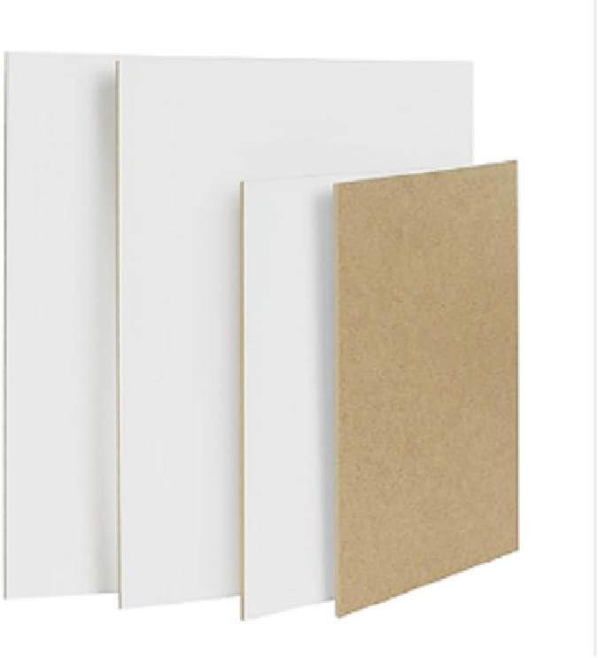 Panel de madera MDF blanco para pintar para colores de aceite, tempera acrílica, etc. 40 x 50 cm: Amazon.es: Bricolaje y herramientas
