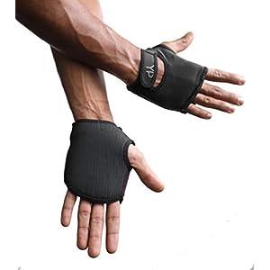 YogaPaws SkinThin Non-Padded Yoga Gloves for Women and Men, Non Slip Grip, for Hot Yoga, Vinyasa, Pilates, Barre, SUP…