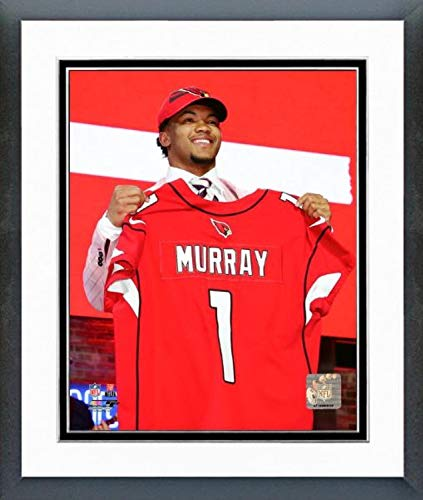 1 Draft Pick Framed - Kyler Murray Arizona Cardinals 2019#1 Draft Pick Photo (Size: 12.5