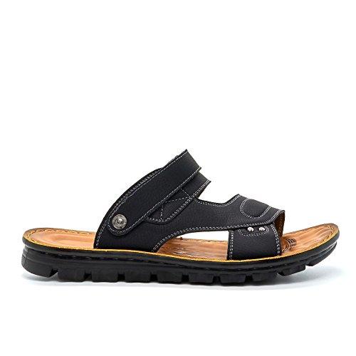 alla caviglia Strap Nero Footwear London uomo wOt5EnXq
