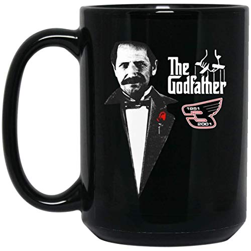 Famous Character The God Father Cast Dale Earnhardt Coffee Mug - 15Oz Black Gift For Friend Lover Colleague Co-worker In Christmas Halloween Birthday Anniversary