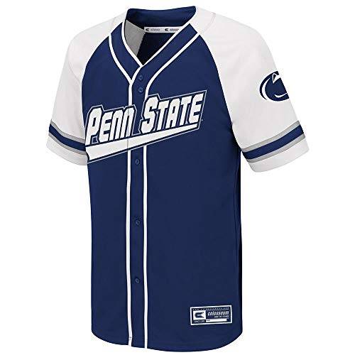 Colosseum Youth Penn State Nittany Lions Wallis Baseball Jersey - M