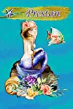 Heavenly Mermaid Preston: Wide Ruled   Composition Book   Diary   Lined Journal