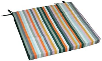 JARDIN PRIVE - Asiento de silla de Idea Manon Verde – 37 x 40 x 3 cm