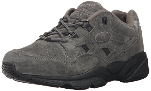 Donna Suede Propét Sandali Stability Walker Pewter YzzqvUpx
