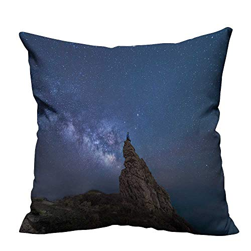 YouXianHome Household Pillowcase Star Hunter Perfect for Travel(Double-Sided Printing) 31.5x31.5 inch