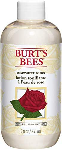 Facial Toner & Astringent: Burt's Bees Rosewater Toner