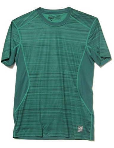 Nike Mens Hyperblur Core Fitted Short Sleeve Shirt 624995 319 (X-Large)