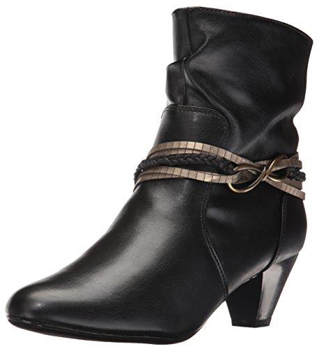 by Soft Hush Vitello Gayla Puppies Style Boot Women's Black waxCfvq
