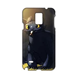 Lovely black greedy cat 3D Phone For Ipod Touch 5 Case Cover