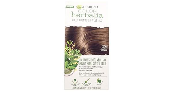 Color herbalia Coloración 100% vegetal marrón helado – Juego de 2