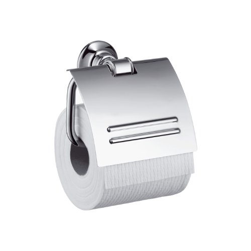 Hansgrohe 42036820 Montreux Tissue Holder, Brushed Nickel