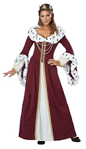 California Costumes Women's Royal Storybook Queen Adult Woman, Multi, Extra Large ()