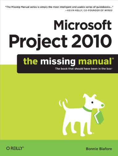 Microsoft Project 2010: The Missing Manual Pdf