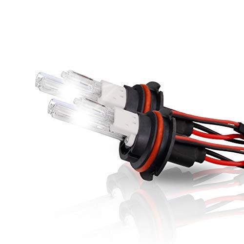 - P.RA 35W 55W HID Xenon Replacement Bulbs - 1 pair - 9007 HB5 - Amethyst Purple