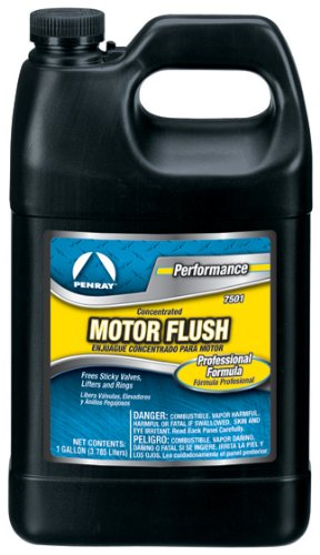 Penray 7501-4PK Concentrated Motor Flush - 1-Gallon Jug, Case of 4 by The Penray Companies