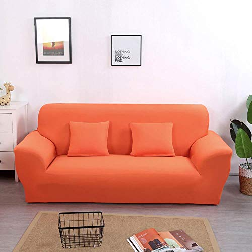 Strech Sofa Cover L Sectional Slipcovers Solid Color 20192258 L 195-230cm