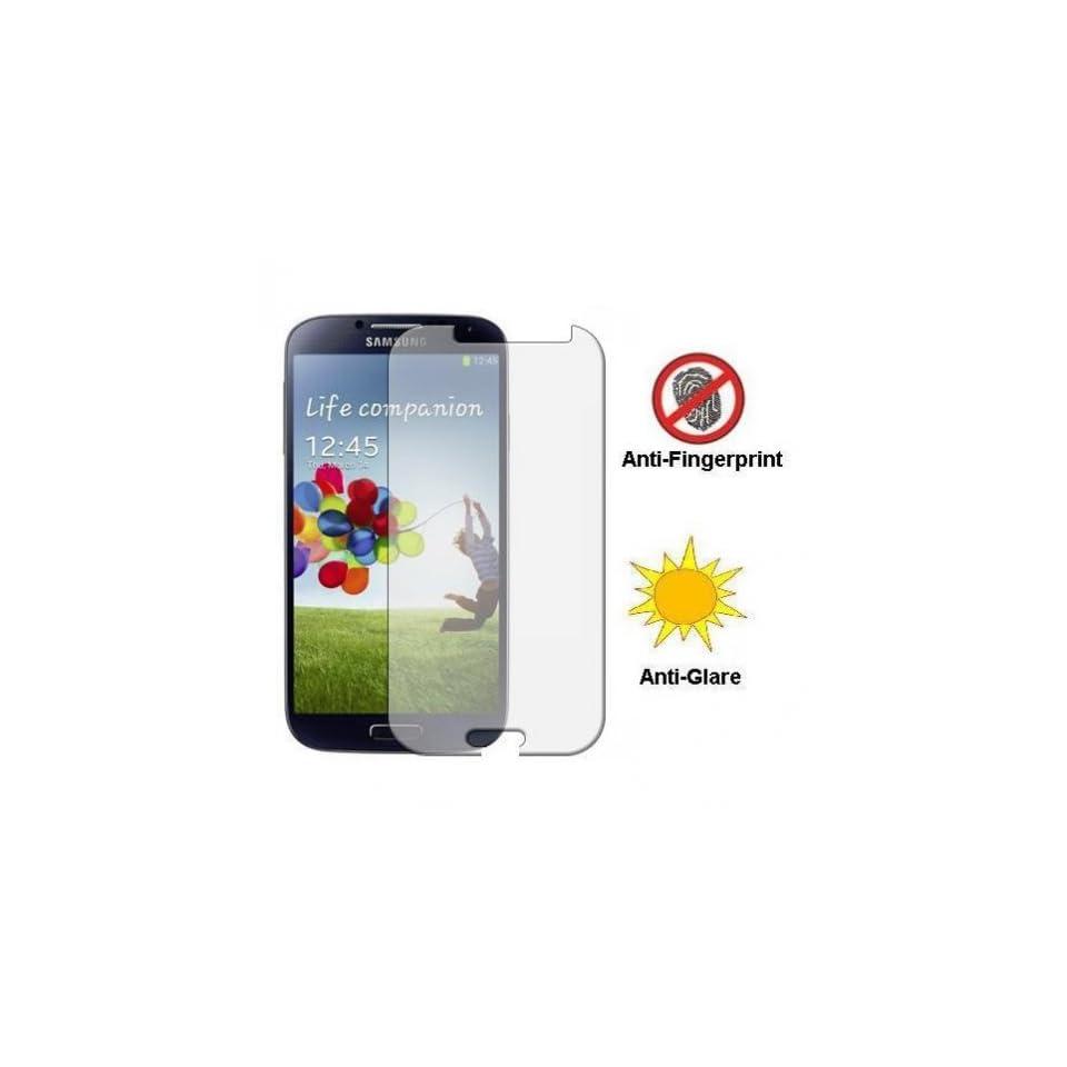 Fonus Anti Fingerprint / Anti Glare Screen Protector LCD Cover Film for Verizon Samsung Galaxy S 4 SCH i545, Sprint Samsung Galaxy S4 SPH L720, US Cellular Samsung Galaxy S 4 IV SCH R970 Cell Phones & Accessories