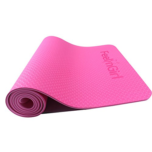 GINVELL Thick High Density Deluxe Non Slip Exercise Pilates & Yoga Mat Review