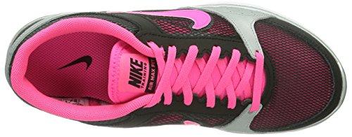 Hallenschuhe Silver metallic Fit Hyper Air Damen Pink Grey Black Pink Nike Max dark xIAC1wO7Aq