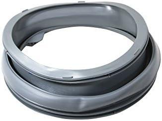 Junta de goma para puerta de lavadora Zanussi. Número de referencia del producto: 3790201408.