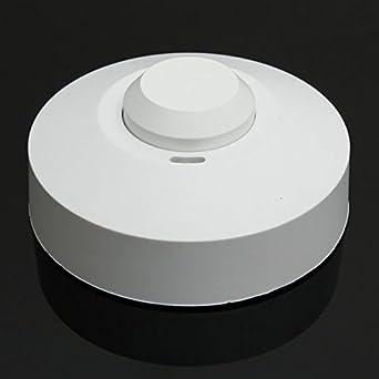 Pegasus Sensor de radar de microondas interruptor detector de movimiento del cuerpo de ocupación pir: Amazon.es: Iluminación
