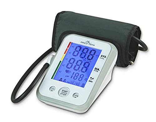 Easy@Home Digital Upper Arm Blood Pressure Monitor  with 3-