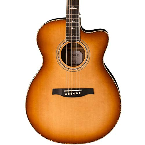 PRS Paul Reed Smith SE Angelus A40E Acoustic Electric Guitar with Case, Tobacco Sunburst