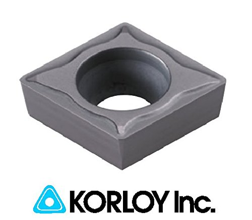 10pc) Korloy CCMT 32.51-C25 NC6210 09T304 Indexable Carbide Inserts