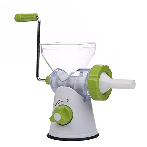 Meat Grinder Sausage Maker Food Grinder with Powerful Suction Base and Food Grade Stainless Steel ()