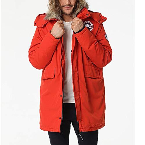 Chaqueta En Clima para Moda De Ideal Invierno Abrigo Encapuchado Calentar XL Abajo Hombres Frío Casual Chaquetas WUYEA wOf40qc