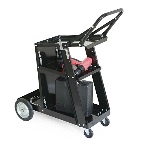 Welder Welding Cart Plasma Cutter MIG TIG ARC Universal Storage Tanks New from Unknown