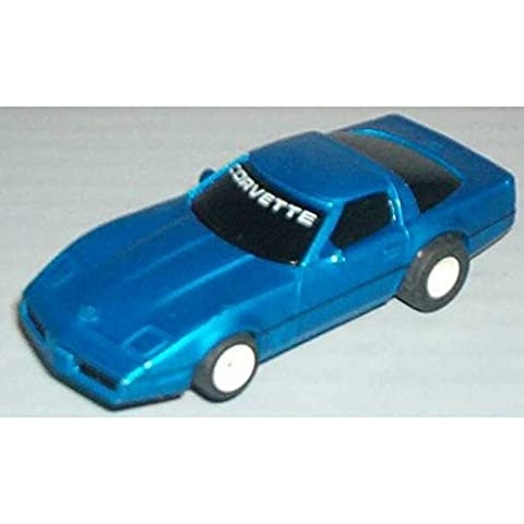 TYCO HO Scale 440x2 Corvette ZR1 Slot Car (15016B) - Tyco Corvette