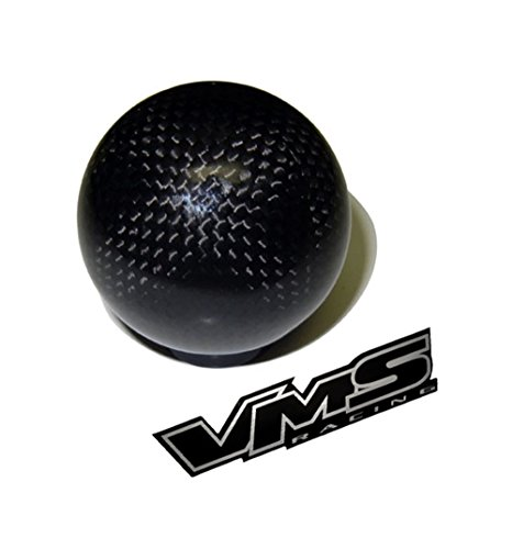 m16x1.50 THREADED (NO adapters) 5 speed 6 speed ROUND Ball Real Hand-Laid CARBON FIBER SHIFT KNOB Gear Shifter Selector Type-R Type-S for Pontiac Firebird 16x1.50mm