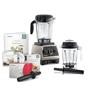 Vitamix Professional Series 750 Brushed Stainless Steel Blender With 64 Ounce Wet Container and 48 Ounce Wet Container : Love this product
