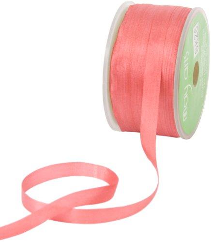 May Arts 1/4-Inch Wide Ribbon, Rose Silk (Rose Silk Ribbon)
