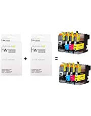 Improducts® Inkt cartridges - Alternatief Brother LC-123/123 Multipack Set 8 pack