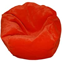 Ahh! Products Microsuede Orange Bean Bag Chair for Dolls