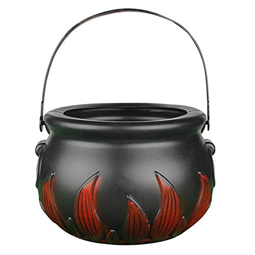 Autumn Water Candy Bucket Novelty Witch Handheld Candy