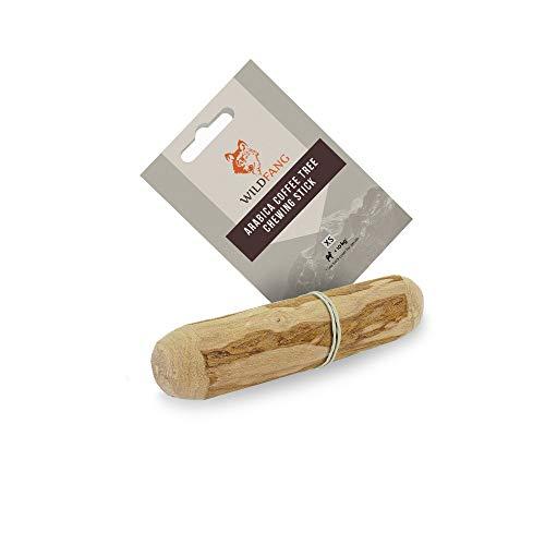 Wildfang® Raíz para Masticar Hecha de Madera del árbol de café para Perros I Hueso de Madera – Juguete para Masticar – Cuidado Dental y Entrenamiento de la mandíbula I Palo Duradero y Natural