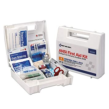 Amazon com: First Aid Only 90588 ANSI 2015 Compliant Class A